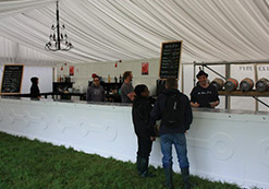 We specialise in full bar management solutions for small to medium sized music festivals